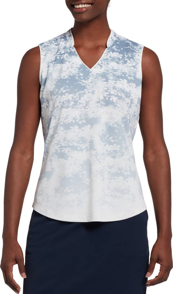 Lady Hagen Women's Ombre Printed Sleeveless Golf Polo product image