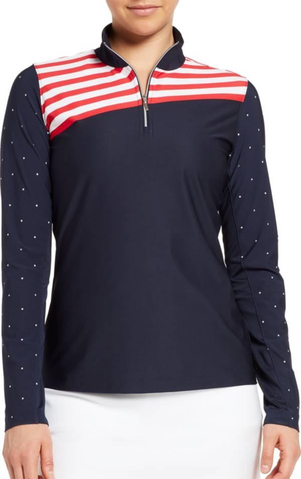 Lady Hagen Women's UV Printed Long Sleeve Golf ¼-Zip product image
