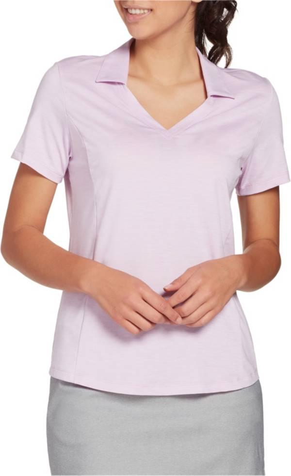 Lady Hagen Spacedye Short Sleeve Golf Polo product image