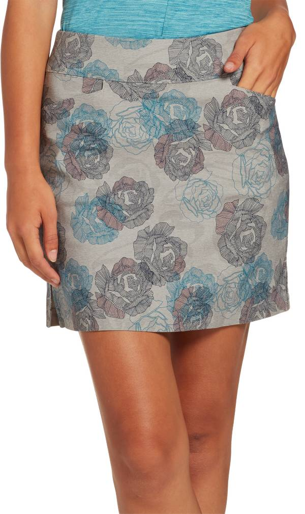 Lady Hagen Women's Floral Printed Tummy Control Golf Skort product image