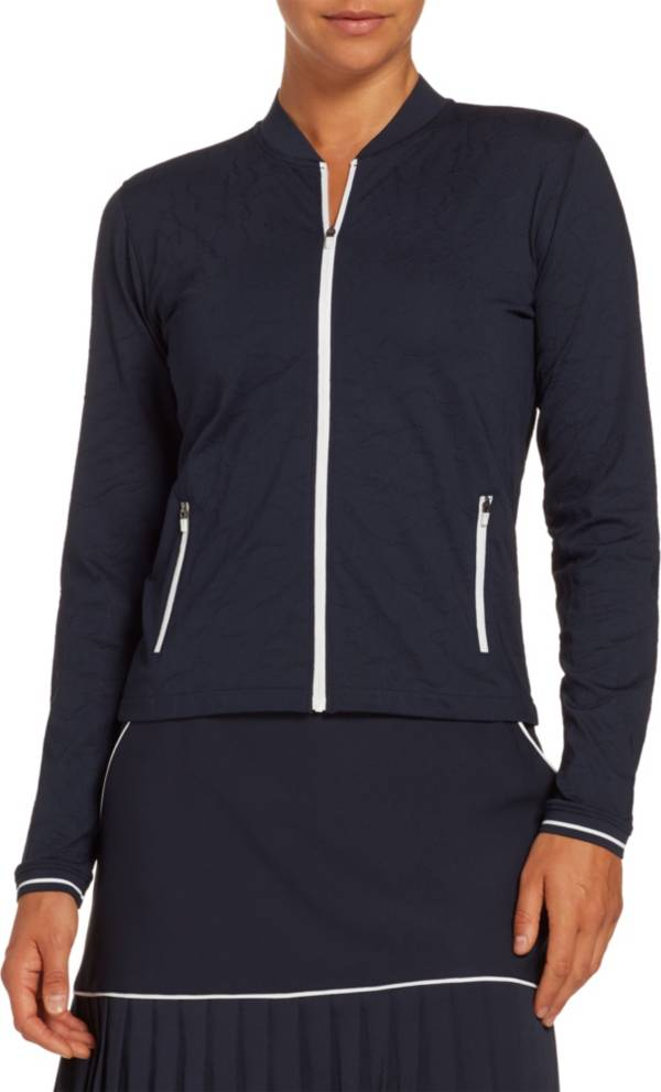 Lady Hagen Women's Texture Bomber Golf Jacket product image