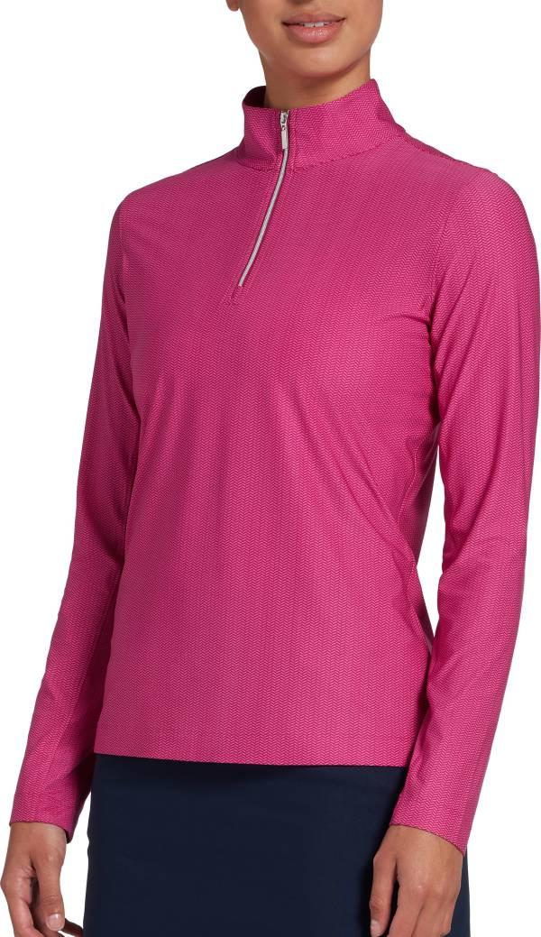 Lady Hagen Women's Printed UV ¼-Zip Golf Pullover product image