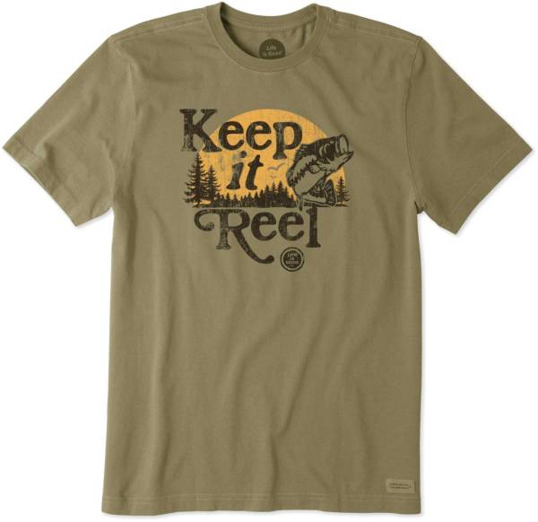 Life is Good Men's Keep it Reel Crusher T-Shirt product image