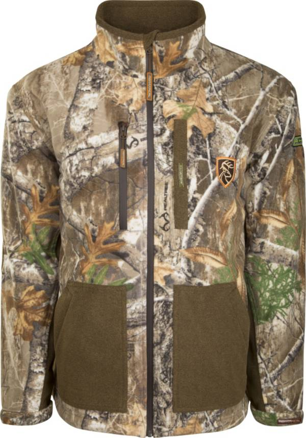 Drake Waterfowl Men's Non-Typical HydroHush Midweight Full Zip Hunting Jacket with Agion Active XL product image