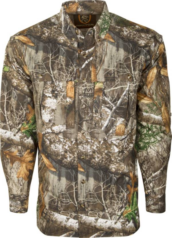 Drake Waterfowl Men's Non-Typical Dura-Lite Long Sleeve Hunting Shirt with Agion Active XL product image