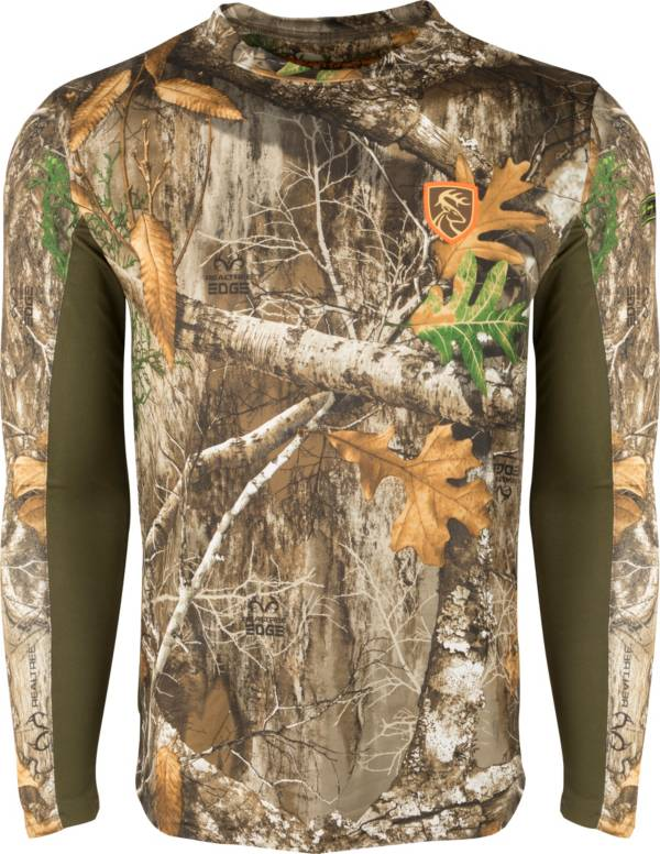 Drake Waterfowl Men's Non-Typical Performance Crew Long Sleeve Hunting Shirt with Agion Active XL product image
