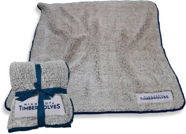 Minnesota Timberwolves Frosty Fleece Blanket product image