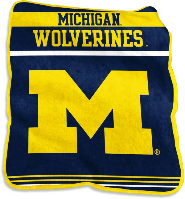 Michigan Wolverines Game Day Throw Blanket product image