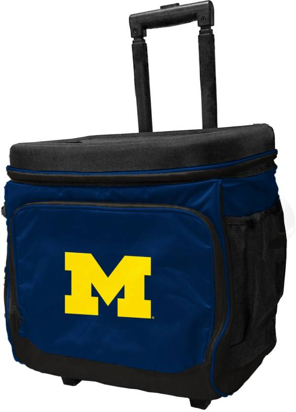Michigan Wolverines Rolling Cooler product image