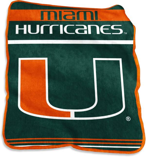 Miami Hurricanes Game Day Throw Blanket product image