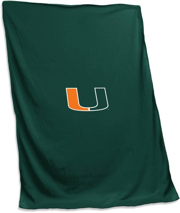 Miami Hurricanes Sweatshirt Blanket product image