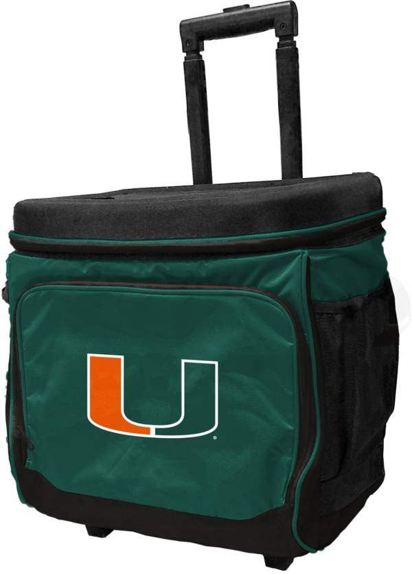 Miami Hurricanes Rolling Cooler product image