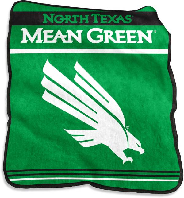 North Texas Mean Green Game Day Throw Blanket product image