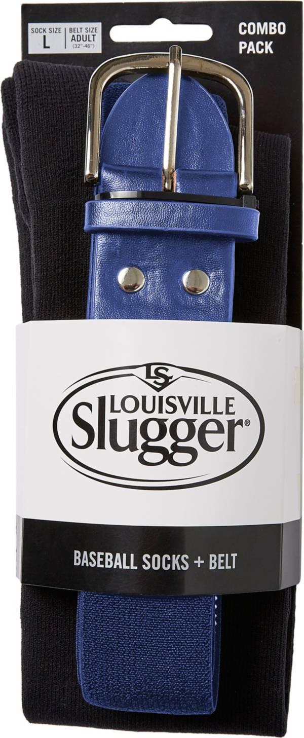 Louisville Slugger Youth Baseball Socks & Belt Combo Pack product image