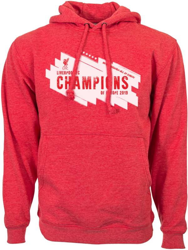 Levelwear Men's 2019 Champions League Champs Liverpool FC Pullover Hoodie product image
