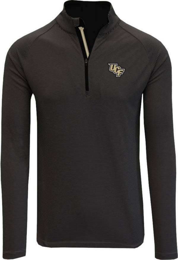 Levelwear Men's UCF Knights Orion Quarter-Zip Black Shirt product image
