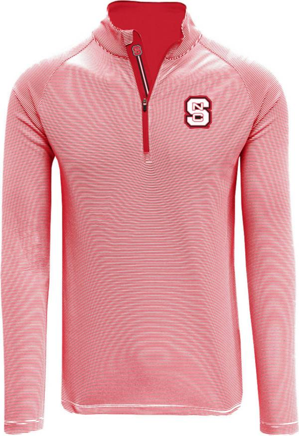 Levelwear Men's NC State Wolfpack Red Orion Quarter-Zip Shirt product image