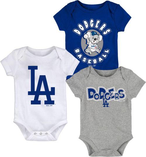 fbfcb9a2e2f4a Gen2 Infant Los Angeles Dodgers 3-Piece Onesie Set | DICK'S Sporting ...