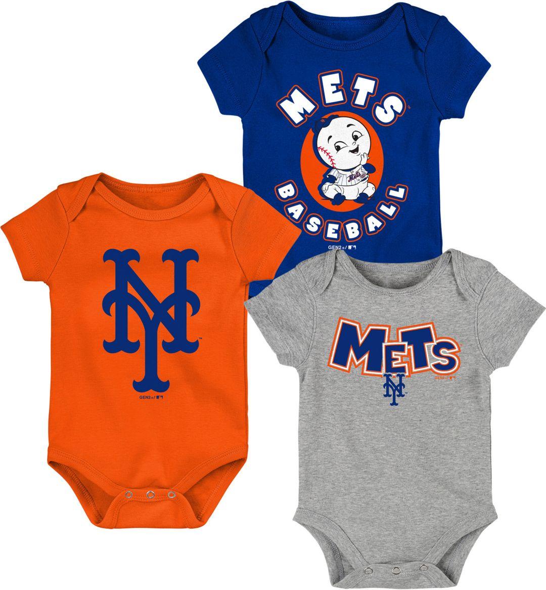 6c5648978bc0f Gen2 Infant New York Mets 3-Piece Onesie Set. noImageFound. Previous