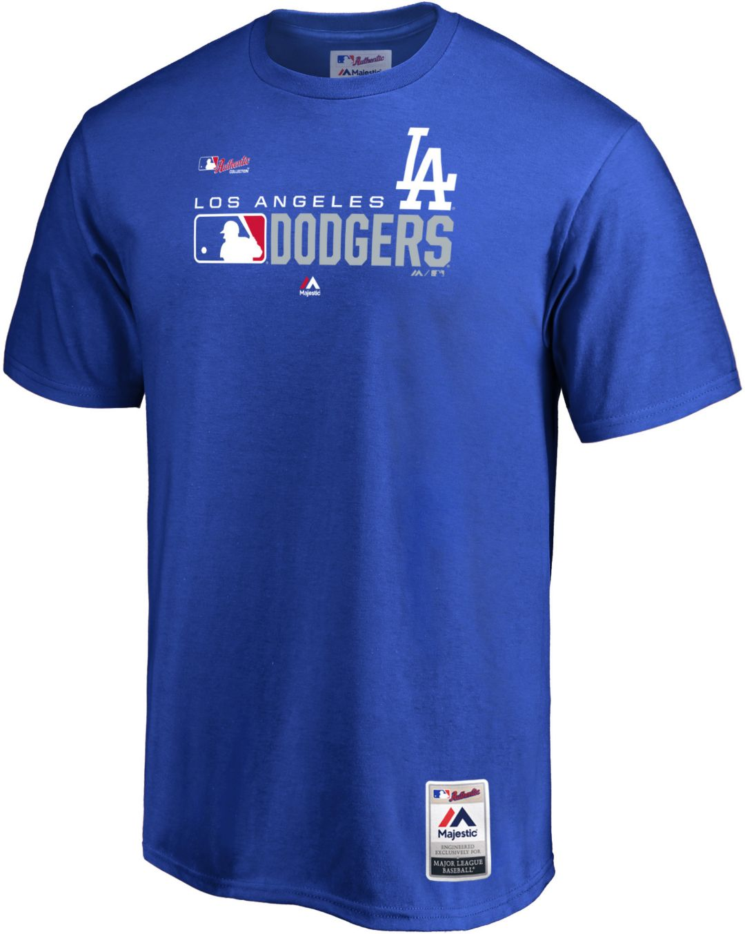 5eb2cd16 Majestic Men's Los Angeles Dodgers Authentic Collection T-Shirt.  noImageFound. Previous