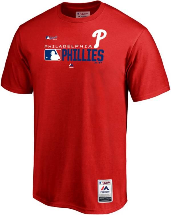 Majestic Men's Philadelphia Phillies Authentic Collection T-Shirt product image
