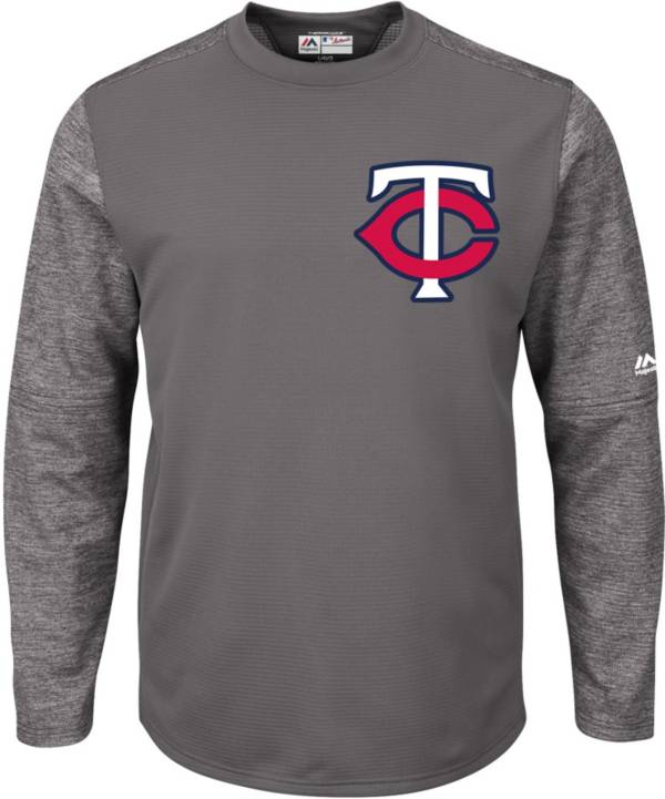 Majestic Men's Minnesota Twins Therma Base Authentic Collection Pullover Tech Fleece product image