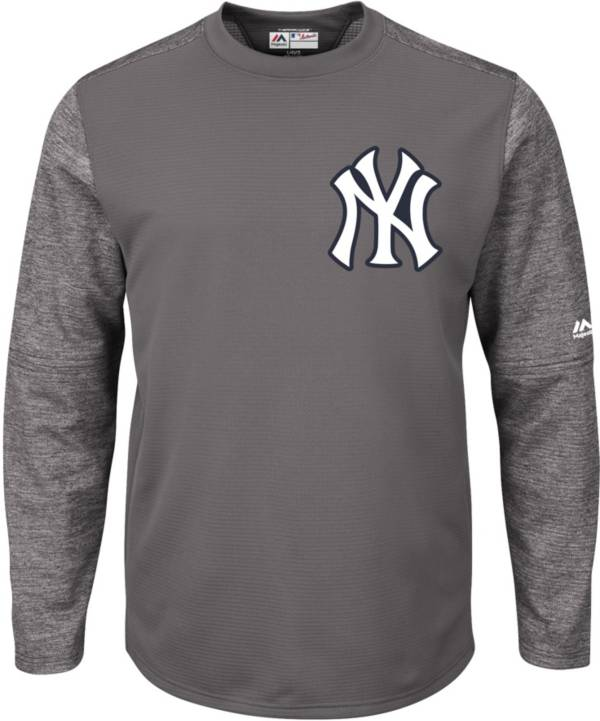 Majestic Men's New York Yankees Therma Base Authentic Collection Pullover Tech Fleece product image