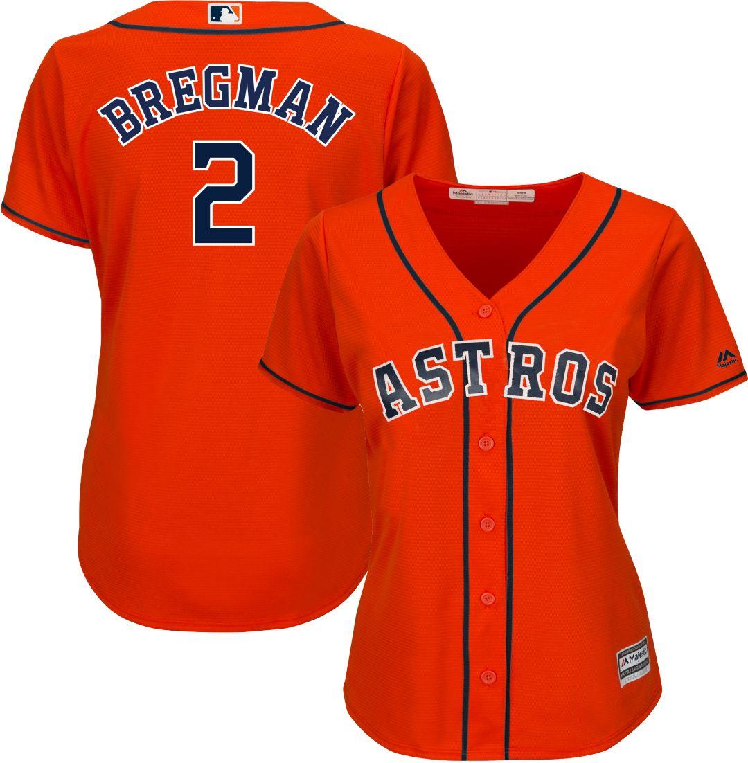 4fd7ef8d Majestic Women's Replica Houston Astros Alex Bregman #2 Cool Base ...