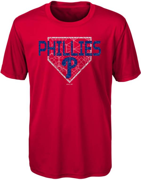 Gen2 Youth Philadelphia Phillies Dri-Tek Red T-Shirt product image