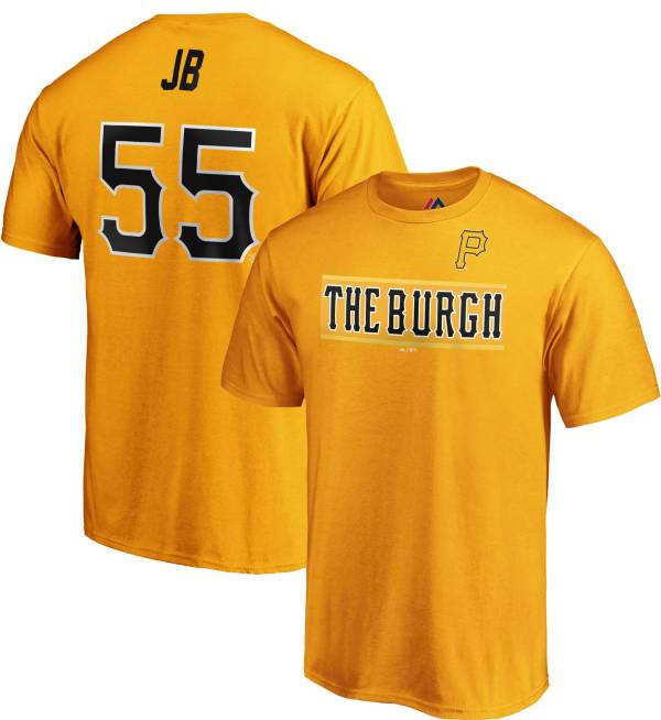 Majestic Youth Pittsburgh Pirates Josh Bell #55 Little League Classic T-Shirt product image
