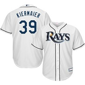 cheaper c3fd2 b83ab Youth Replica Tampa Bay Rays Kevin Kiermaier #39 Home White Jersey
