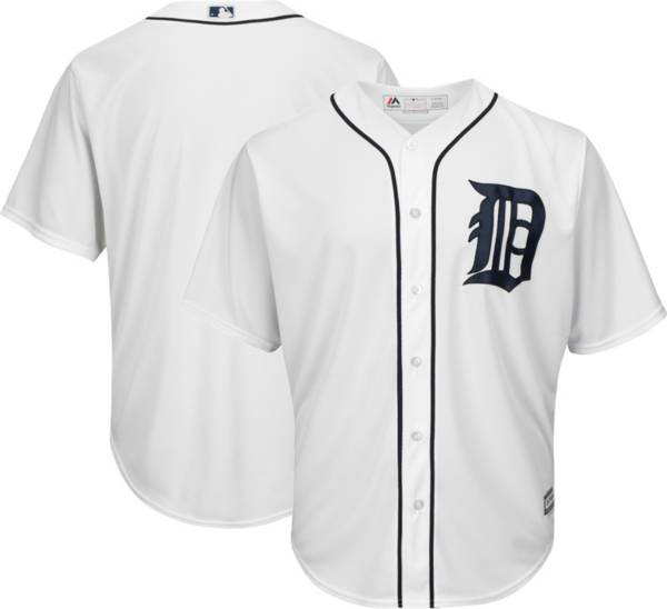 Majestic Youth Replica Detroit Tigers Cool Base Home White Jersey product image