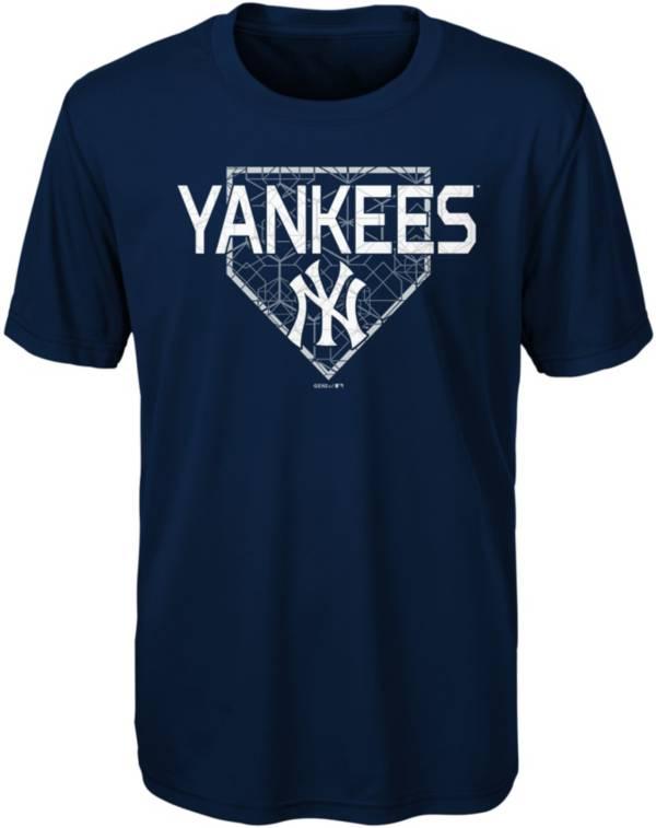 Gen2 Youth New York Yankees Dri-Tek Navy T-Shirt product image