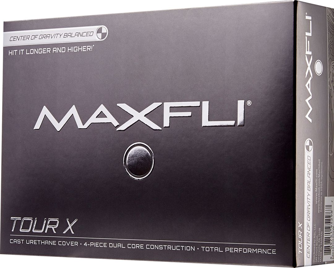 Maxfli 2019 Tour X Golf Balls | DICK'S Sporting Goods
