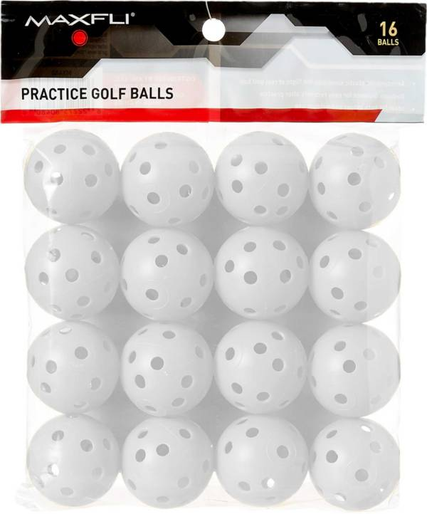 Maxfli Plastic Practice Balls - 16-Pack product image