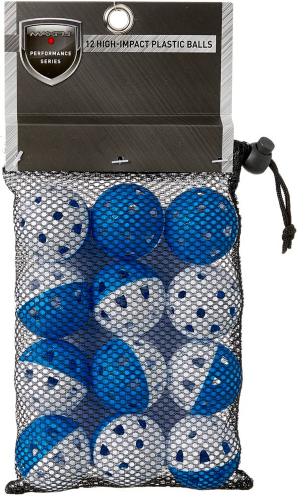 Maxfli Performance Series High-Impact Plastic Practice Balls - 12-Pack product image