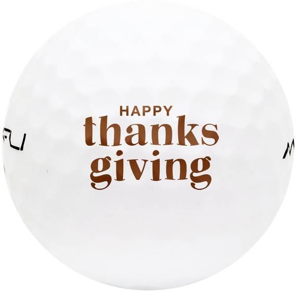Maxfli SoftFli Thanksgiving Novelty Gloss Golf Balls product image