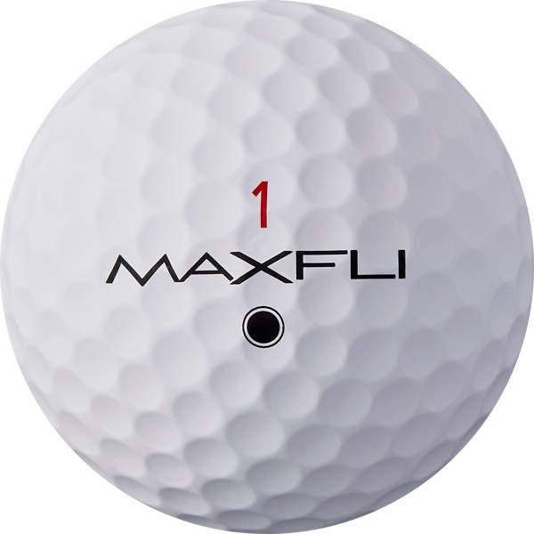 Maxfli 2019 Tour X Matte White Personalized Golf Balls product image