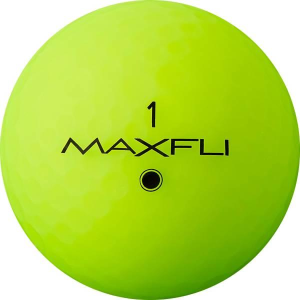 Maxfli StraightFli Matte Green Personalized Golf Balls product image