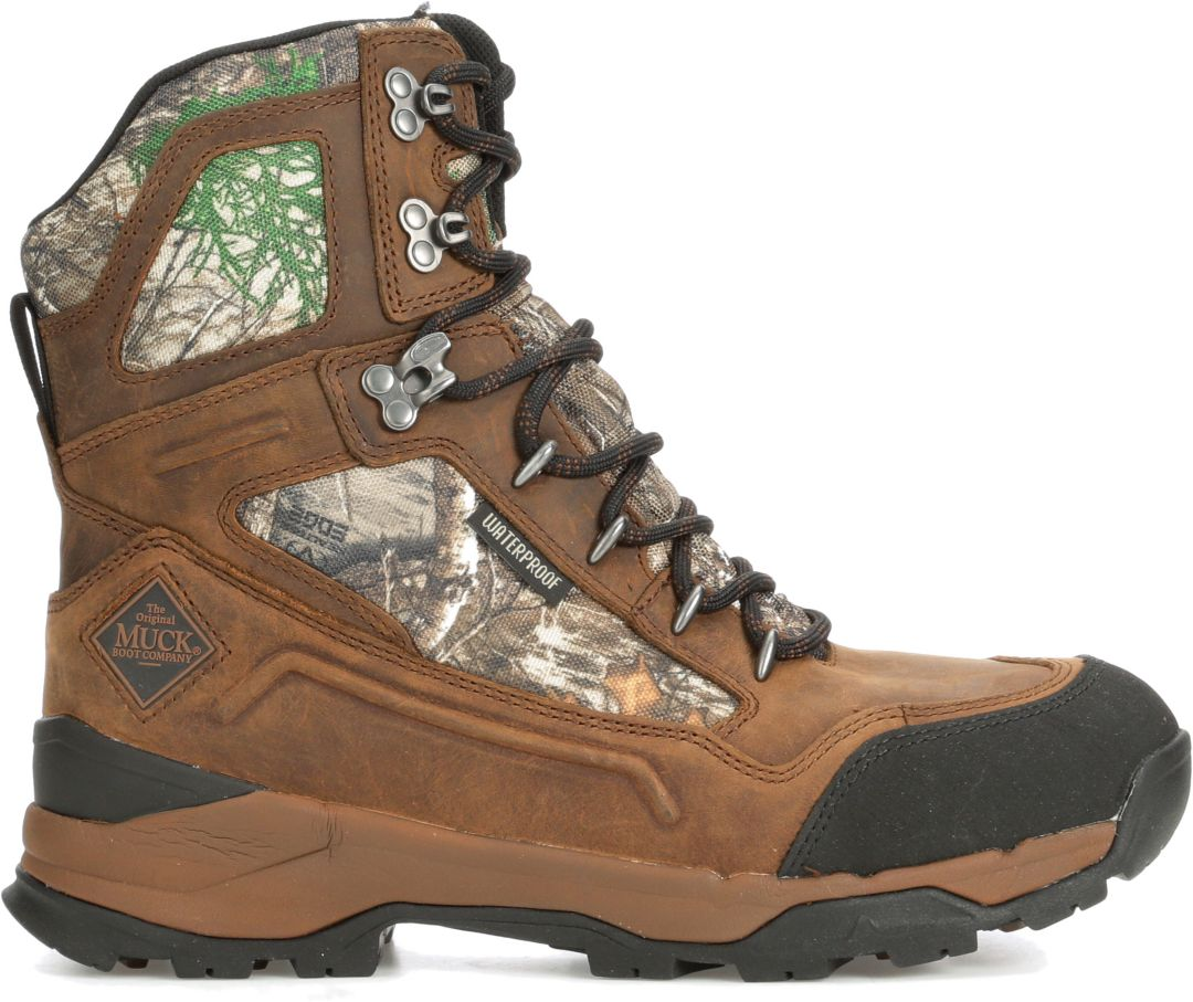 a76095d64e0 Muck Boots Men's Summit 8'' Realtree Edge Waterproof Field Hunting Boots