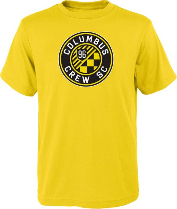 MLS Youth Columbus Crew Logo Yellow T-Shirt product image