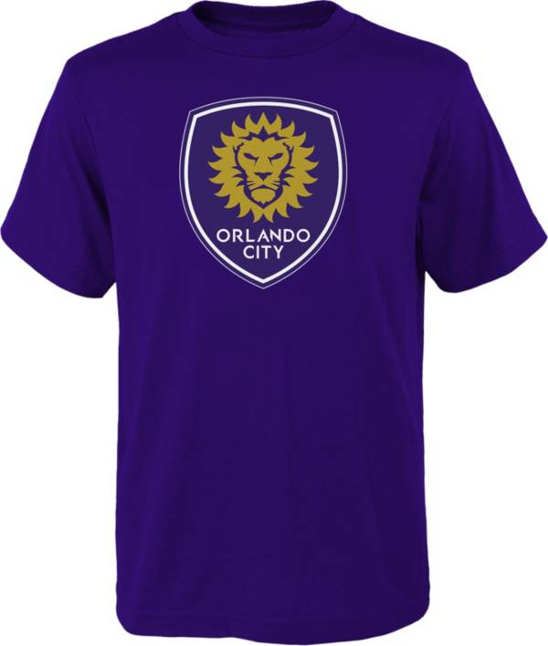 MLS Youth Orlando City Logo Purple T-Shirt product image