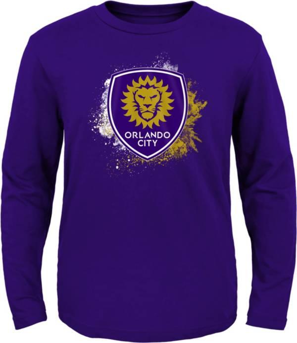 MLS Youth Orlando City Splashin' Purple Long Sleeve Shirt product image