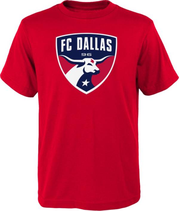 MLS Youth FC Dallas Logo Red T-Shirt product image
