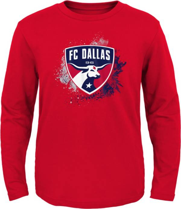 MLS Youth FC Dallas Splashin' Red Long Sleeve Shirt product image