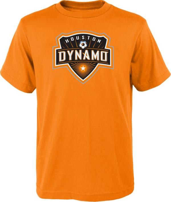 MLS Youth Houston Dynamo Logo Orange T-Shirt product image