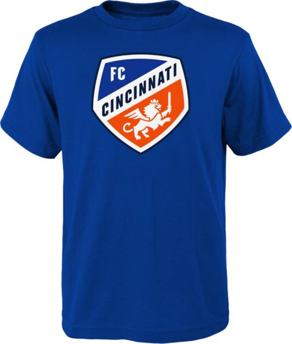 MLS Youth FC Cincinnati Logo Royal T-Shirt product image