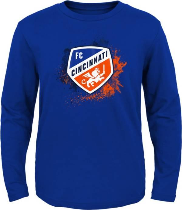 MLS Youth FC Cincinnati Splashin' Royal Long Sleeve Shirt product image