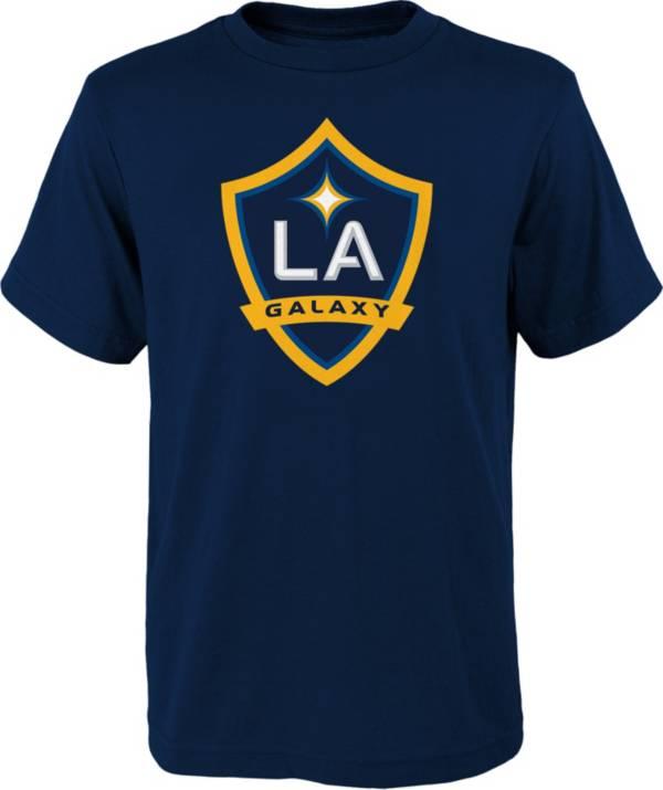 MLS Youth Los Angeles Galaxy Logo Navy T-Shirt product image