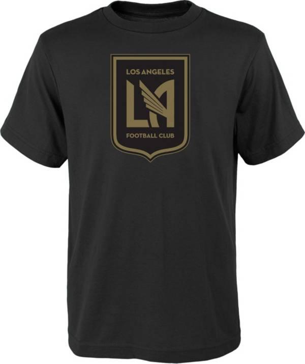 MLS Youth Los Angeles FC Logo Black T-Shirt product image